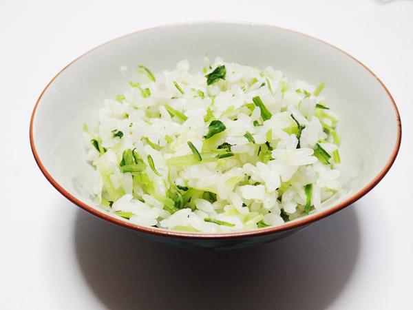 壬生菜の菜飯